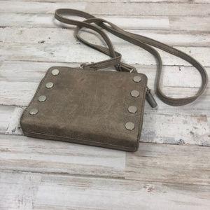 Hammitt LA Crossbody Purse Suede Leather w/studs